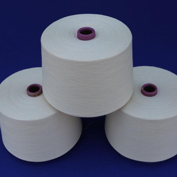 棉粘系列紗線(漂白)